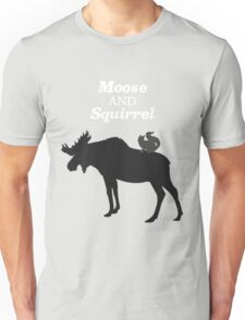 Supernatural Moose and Squirrel  Unisex T-Shirt