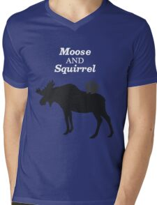 Supernatural Moose and Squirrel  Mens V-Neck T-Shirt