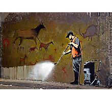 Council Worker by Banksy Photographic Print
