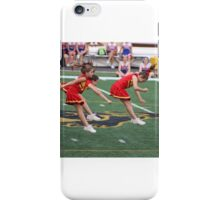 Cheer Leaders in Action iPhone Case/Skin