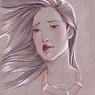 Toned Paper Pocahontas by CherryGarcia