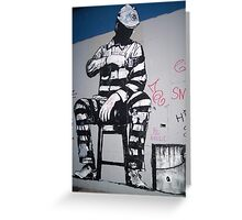 NY Graffiti Greeting Card