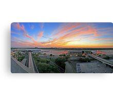 Tampa International Airport Panorama Canvas Print