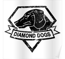 Diamond (Black) Poster