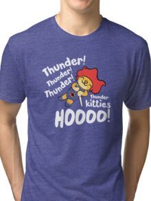 Thunder Kitty Tri-blend T-Shirt