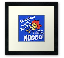 Thunder Kitty Framed Print