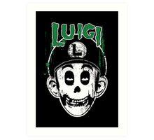 Luigi Fiend Art Print