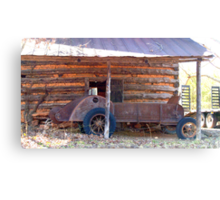 It's a Manure Spreader Canvas Print