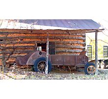 It's a Manure Spreader Photographic Print