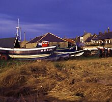 Providence II BK 218 at Boulmer Village by nigelphoto