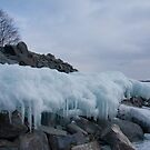 Frozen Great Lake by Benjamin Brauer