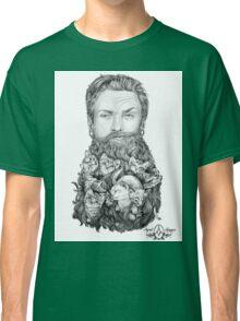 Kitten Beard by April Alayne Classic T-Shirt