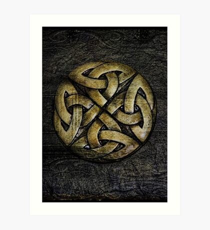 Celtic Dreamer Art Print