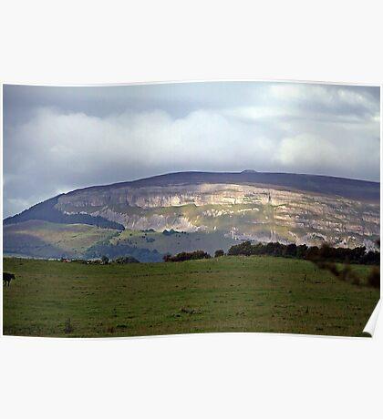Irish Countryside scene Poster