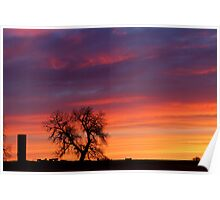 Morning Country Sunrise Poster
