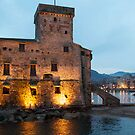 Rapallo castle by Alessandra Antonini