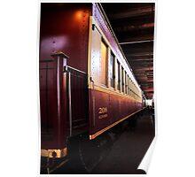The Tarantula Train - Fort Worth , Texas Poster
