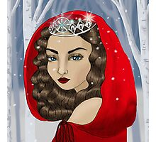 The Ice Maiden - The Keeper of Winter Photographic Print
