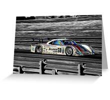 Brumos Porsche Greeting Card
