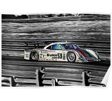 Brumos Porsche Poster