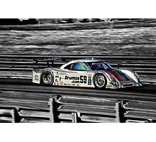 Brumos Porsche Photographic Print