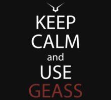 code geass keep calm and use geass anime manga shirt by ToDum2Lov3