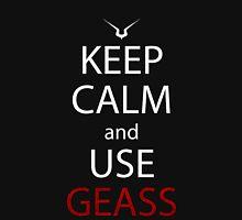 code geass keep calm and use geass anime manga shirt Unisex T-Shirt