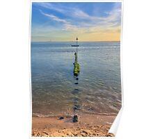 Chalkwell Sea Groin Poster