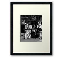 Hardie Street Framed Print
