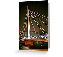 A bridge of Light Greeting Card