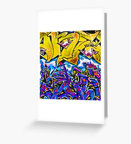 Graffiti #2b Greeting Card