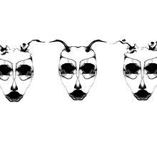 The Three Heads by Filipa Silva