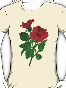 Red Hibiscus T-Shirt