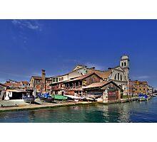 Squero di San Trovaso - Venice Photographic Print