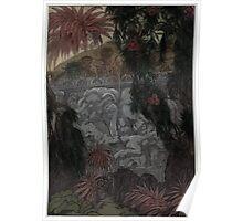 Maurice de Becque Livre de la jungle10 Poster