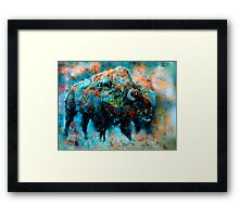 strength and patience of the greatest Framed Print