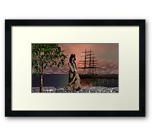 Haughty in Eighteen fifty one Framed Print