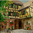 Beautiful Germany  Bietigheim 1 by Marie Luise  Strohmenger