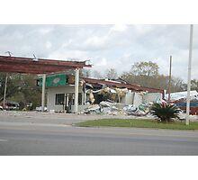 Tornado damage II Photographic Print