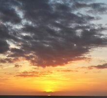 sunset in Lanzarote II by Alessandra Antonini