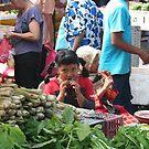 Girls at market by eddiebotha