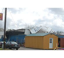 Tornado damage III Photographic Print