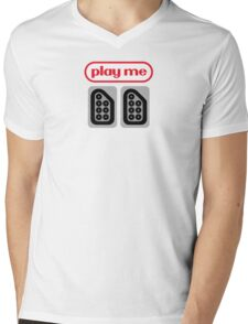 play me ports Mens V-Neck T-Shirt