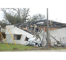 Tornado damage IV Photographic Print