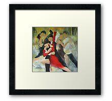 Sentimental tango Framed Print