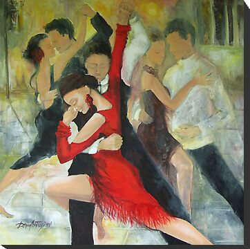 Sentimental tango by dorina costras
