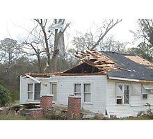 Tornado damage V Photographic Print