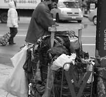 Trash Can Man by vixteruk
