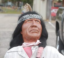 Wooden Indian by zpawpaw
