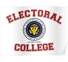 Electoral College-Collegiate Design Poster